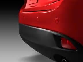 rear parking sensors mazda 3 2014 2015