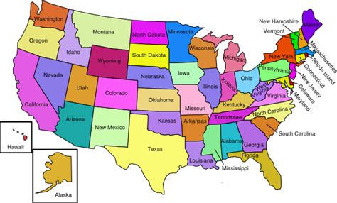 united states of america map mrs 5th grade