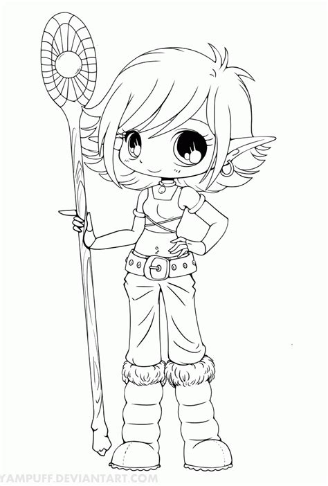 cute chibi coloring pages free coloring pages for kids 7 13 pics of chibi elf coloring pages cute anime chibi