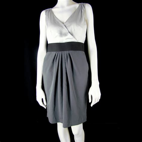 Hnm Cocktail Dress h m h m cocktail dress gray black color block 8 from
