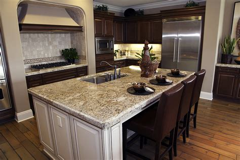 granite island kitchen granite kitchen island table with regard to kitchens with