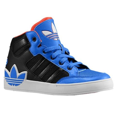 adidas originals court hi boys grade school