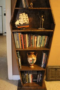 buy  hand  coffin bookcase   order