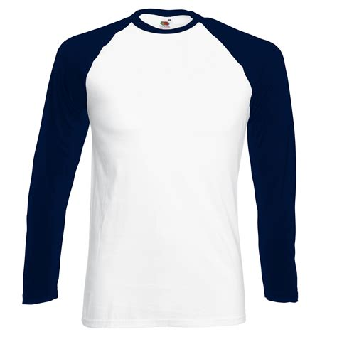 Kaos Baju T Shirts Logo Nike fruit of the loom mens sleeve baseball t shirt ebay