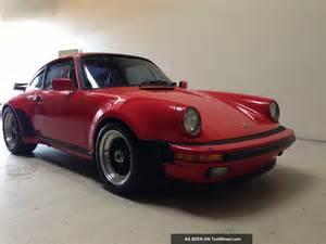 1986 Porsche 911 Turbo 1986 Porsche 911 930 Turbo