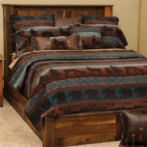 Southwestern Bedding Sets Rustic Wildlife Coverlet Bedding Ensemble Bedroom Re Dos Pinterest Southwestern Bedding