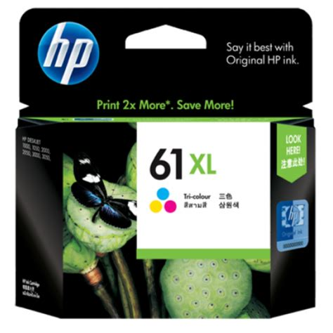 hp 61 color ink hp 61xl tri color ink cartridge ch564wa