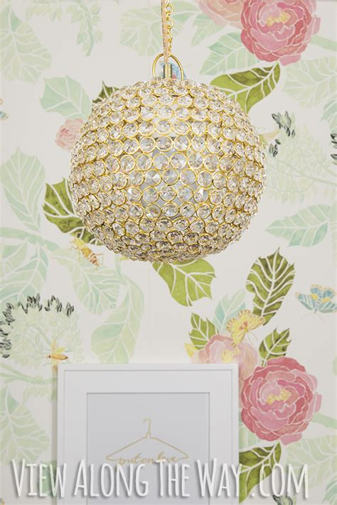 Diy Sphere Chandelier Budget Lighting Solutions The Turquoise Home