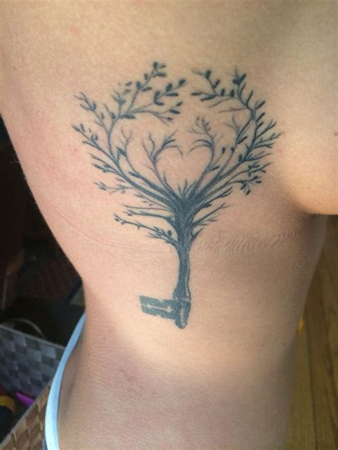 heart tree tattoo best 20 cherry tree tattoos ideas on