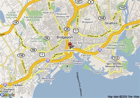 bridgeport map map of inn and conference center bridgeport