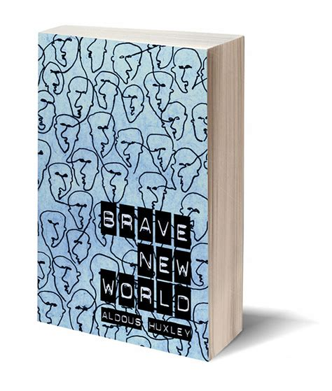 brave new world book report book cover brave new world on behance