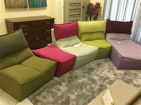 divani 4 posti divano calia hip hop divani con chaise longue tessuto