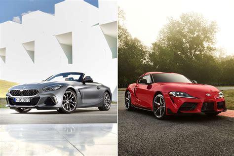 Toyota Supra 2020 Bmw by 2020 Toyota Supra Vs 2019 Bmw Z4 By The Numbers