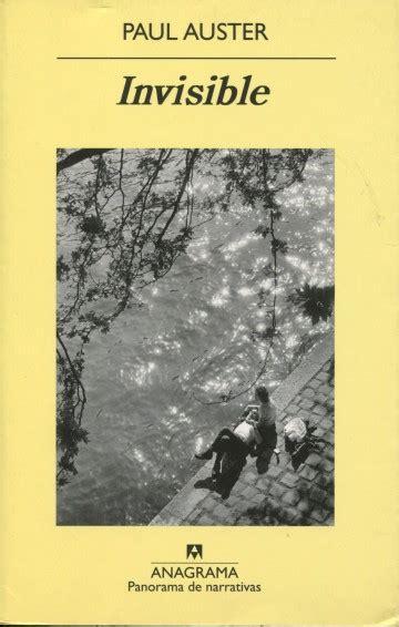 libro amsterdam panorama de narrativas invisible editorial anagrama