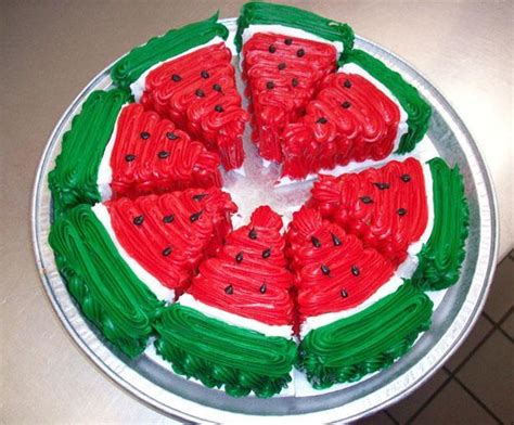 Watermelon Cake Decorating Ideas watermelon cakes and adding color to summer