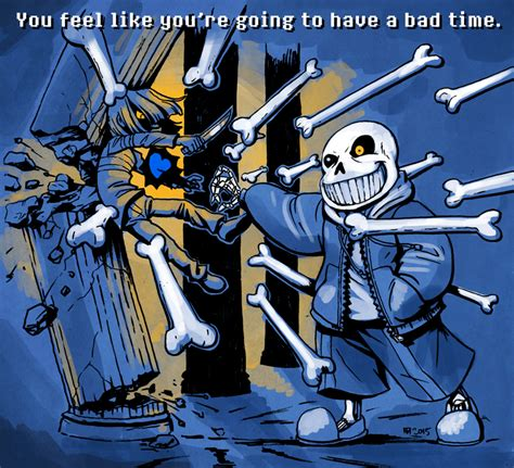 Sans By Bad Bunny do you wanna a bad time sans by squidbunny on