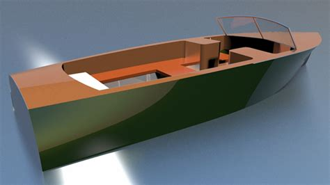 wooden boat plans runabout runabouts pontoon boats deck boats woodenboat magazine