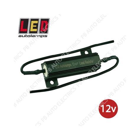led resistor automotive led auto ls led load resistor 12v lr12 pb auto electrics commercial leisure products