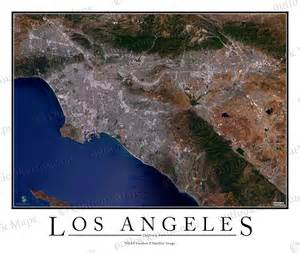 los angeles map satellite