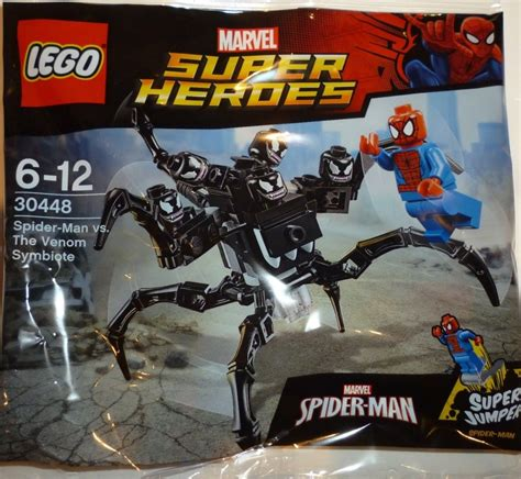 Set 3in1 Batman Vs Spider lego 30448 spider vs the venom symbiote polybag