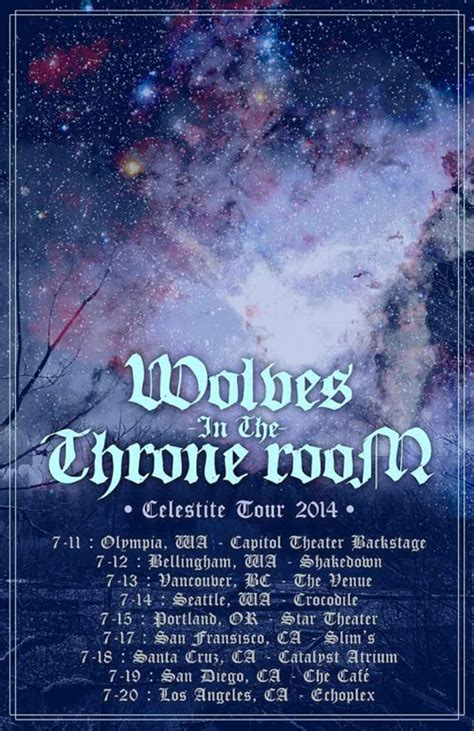 wolves in the throne room celestite wolves in the throne room streams new album celestite us west coast tour begins next week