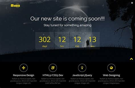 21 free coming soon under construction html web templates
