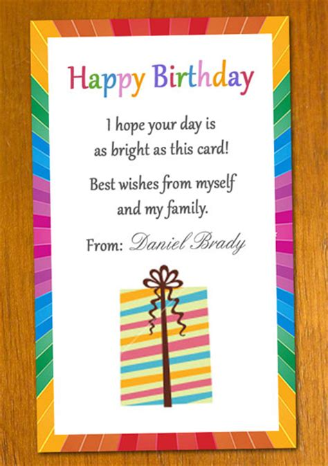 message template to write in birthday card birthday card template cyberuse