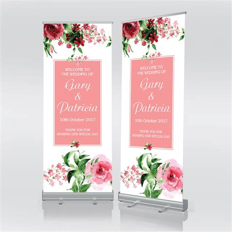 Wedding Banner With Stand by Free Postage Wedding Welcome Sign Wedding Decorations