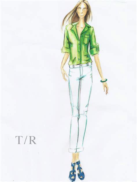 marker illustrations tr fashion illustration
