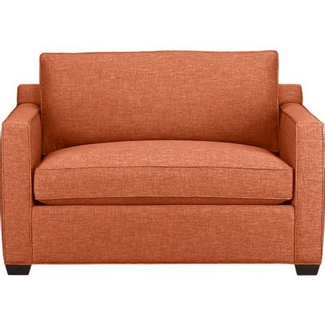 twin loveseat sleeper davis twin sleeper sofa