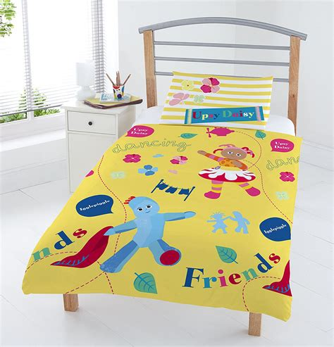 Winnie The Pooh Duvet Set In The Night Garden Iggle Piggle Junior Toddler Cot Bed