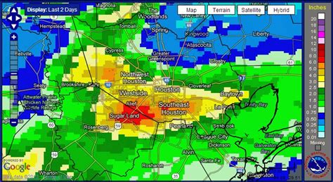 weather houston rainfall