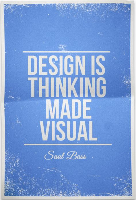 design is thinking made visual poster design is thinking made visual saul bass by dawiiz on