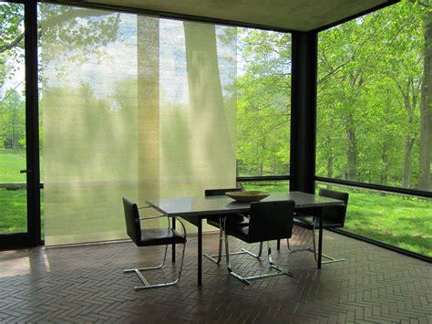 glass house philip johnson glass house dining area philip johnson misfits architecture