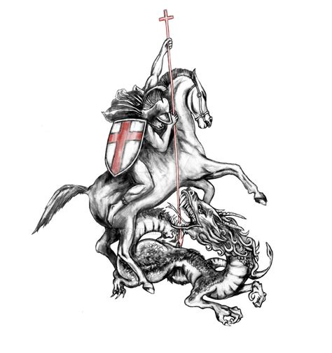 tattoo st george by saramira on deviantart