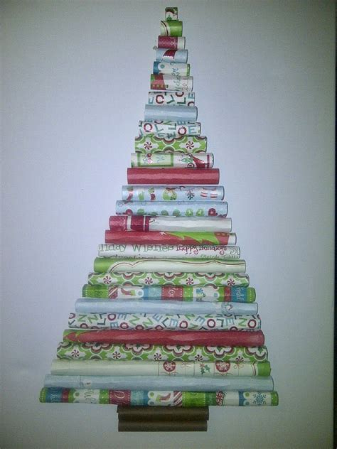 a creative and crafty inspiration rolled paper christmas