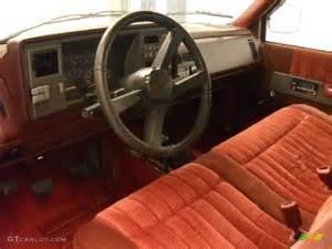 interior 1992 chevrolet c k k1500 regular cab 4x4