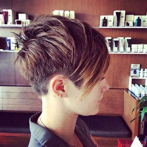 15 shaved pixie haircuts pixie cut 2015 15 long bob haircuts back view short hairstyles for women