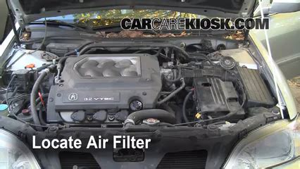 how does cars work 1999 acura tl engine control air filter how to 1999 2003 acura tl 1999 acura tl 3 2l v6