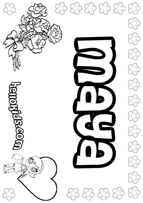 Maya Coloring Pages Hellokids Com Mayan Coloring Pages