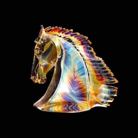 Murano Glass Bowls And Vases Murano Glass Horse Head Big In Murano Glass Muranonet