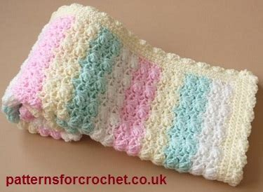 Free Crochet Patterns For Babies Blankets by Free Baby Crochet Patterns Afghan Blanket Crochet
