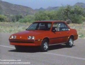 car manuals free online 1987 buick skyhawk electronic throttle control 187 1983 buick skyhawk manufacturer promo