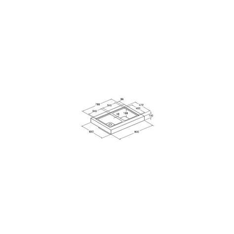 scholtes lavelli blocco lavello da appoggio scholtes ep902 acciaio inox