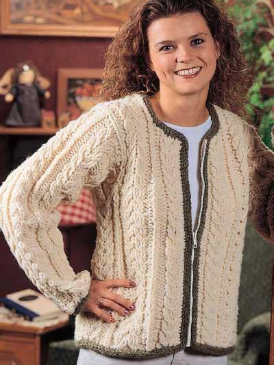 aran jacket knitting patterns free free cardigan knitting patterns almost aran jacket