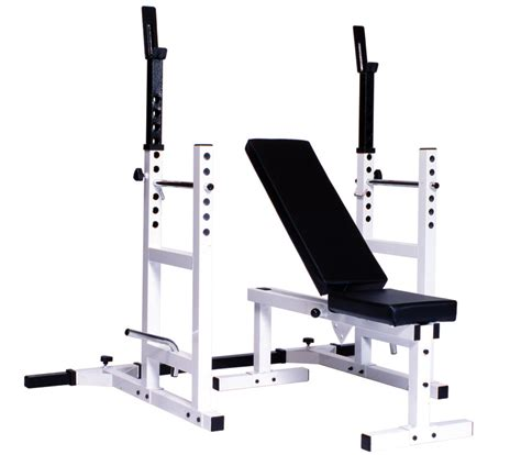 bench press with rack framework cycle fitness york bench press rack