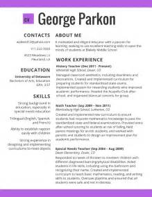 Best Resume For 2017 best resume template 2017 learnhowtoloseweight net