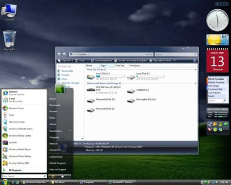 themes vista 41 windows vista custom desktop theme packs windows