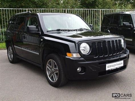 2009 Jeep Patriot Limited 2009 Jeep Patriot 2 0 Crd Limited Leather Ssd Gps