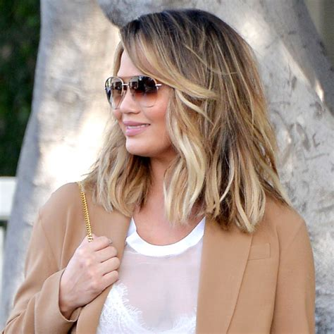 textured lob straight celeb inspired haircuts to try this summer